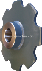 Black oxide coating surface double pitch conveyor chain sprocket