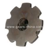 OEM standard steel C2100 double pitch 63.5mm harden teeth conveyor chain sprocket 21T sprocket
