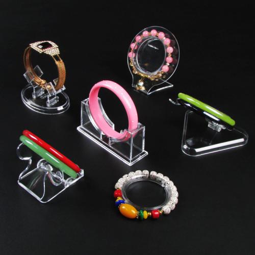 Plastic Jewelry Display Bangle Bracelet Stand Rack Jewellery Holder