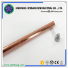 High conductivity copper clad steel ground rod