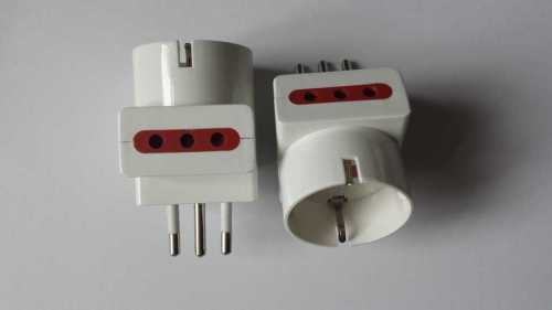 Germany / France /EU Plug Socket to Uruguay Italy power adapter plug