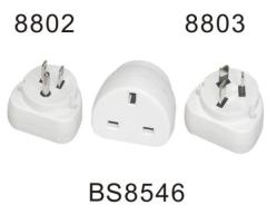 BS8546 universal travel adaptor