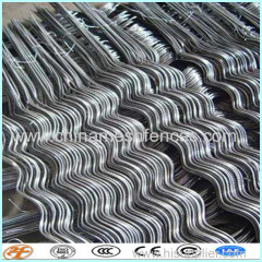 steel galvanized PVC coated tomato spiral rod wire