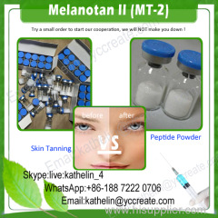 Human Growth Peptide powder skin tanning/Melanotan II (Mt2)/Melanotan 2 MT-2 CAS No. 121062-08-6