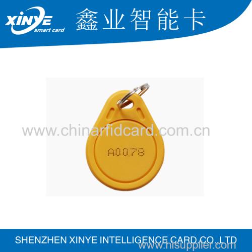 rfid ABS 125khz keyfob