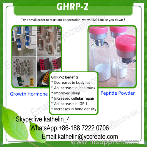 158861-67-7 Peptides powder Ghrp-2 5mg/Vial & 10mg/Vial Muscle Gain decrease body fat GHRP-2