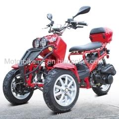 150cc Three-Wheel Ruckus Style Trike Scooter Moped - MODEL DF150TKC