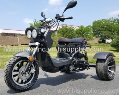 150cc Three-Wheel Ruckus Style Trike Scooter Moped - MODEL