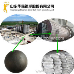 forged ball mill steel ball(hot rolled steel balls) for cement plant mines power plant