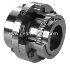 Gear coupling drum barrel coupling