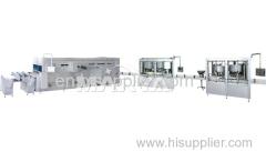 Medical IV Solution Production Line for Glass Bottle