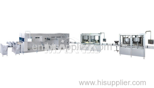Medical IV Solution Production Line for Glass Bottle