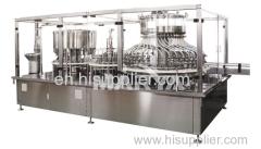Botella de vidrio automática IV Solución Línea de producción