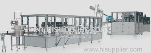 China Pharmaceutical Plastic bottle IV Production Line