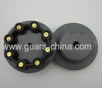 Pressure Control MH rubber spider flexible coupling /helical shaft coupling for Strict manufacturing standrd