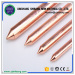 Copper Coated Ground Rod 1/2''Copper Bonded Grounding Rod