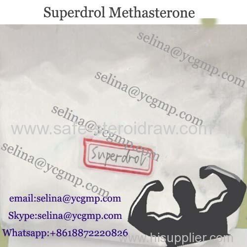 Bulking Cycle Steroid Powder Methasterone Superdrol