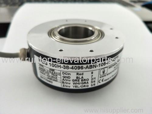 Elevator encoder WDG 100H-38-4096-ABN-105-K3-C85 made in china for Thyssenkrupp