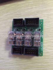 Fujitec indicatore di parti dell'ascensore PCB YKA20806ABA000