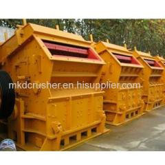 Horizontal shaft impactor for rocks