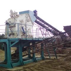 PF Impact Crushing Equipment with Final Products in Cubical Shape