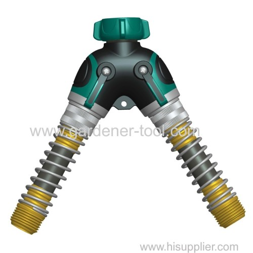 Outdoor Y Water Hose Split Connector