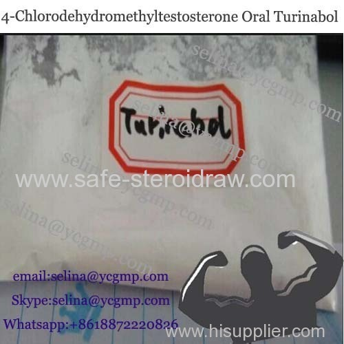 Oral Anabolic Steroid 4-Chlorodehydromethyltestosterone Turinabol