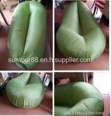 new design round head inflatable air sofa bed