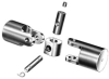Textile machine/woodwork machine 's universal joint