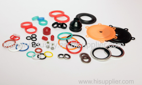 FPM/Silicone/EPDM/HNBR Rubber Molded Parts