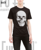 High Quality Cotton T-Shirts With Skull Print