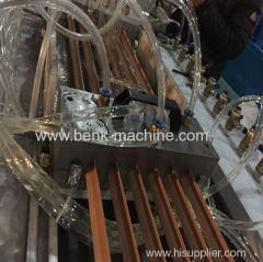 PVC corner bead extrusion line