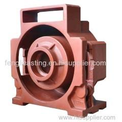 Elevator Traction Frame Casting Manufacturer
