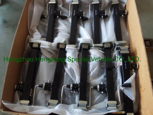 squre tube 7000lbs capacity pipe mount jack