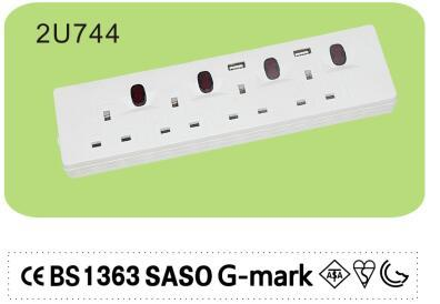 Power strip with long cord