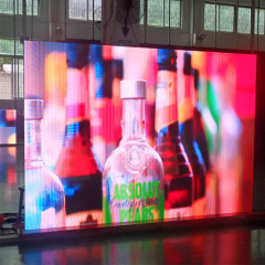High quality indoor led curtain screen