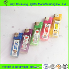 Good Reputation Transparent Plastic Electronic Lighter