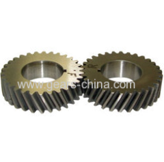 Custom OEM stainless steel helical gear