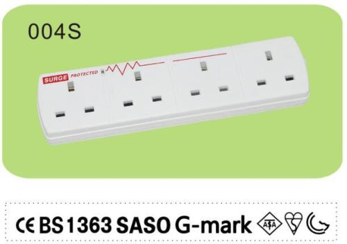 USB power strip with surge protection