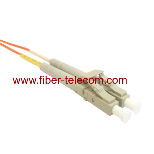 LC to LC Multimode Duplex Fiber Optical Patch Cable