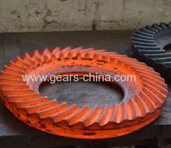 Good quality forging gear made by whachinebrothers ltd.