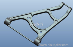 axle bracket casting items with CNC