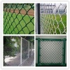 outdoor football basketball tennis etc sports court chain link steel fence