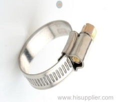English type hose clamp