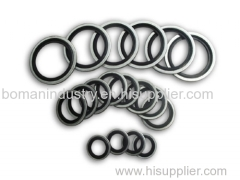 NBR Bonded Seals with Zinc