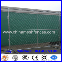 6x12ft construction site temporary chain link fence