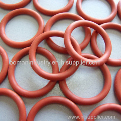 Silicone Orange Color O Ring