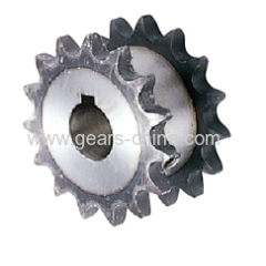 OEM/ODM standard steel double single high frequency hardening roller chain drive sprocket