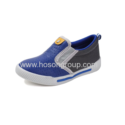 Clip on casual children shoes