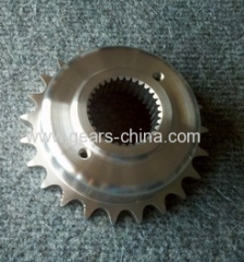 (ANSI)Steel C45 Q345 PA6 SUS 30 Cast lron Material Weld Finish Sprockets/Roller Chain Idler Sprocket